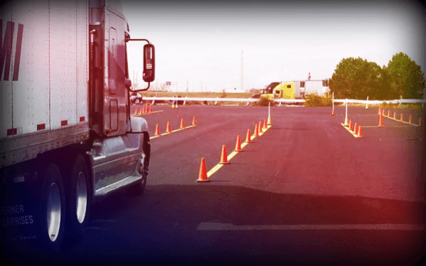 getting truck driving training