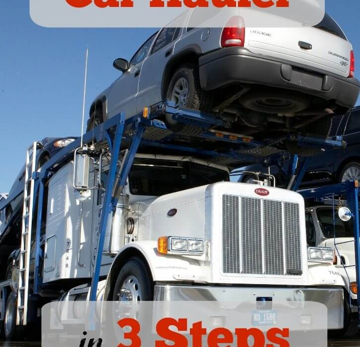 Become a car transporter in 3 steps